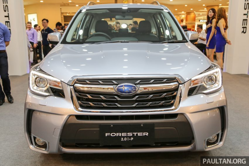 2016 Subaru Forester facelift launched in Malaysia, from RM140k – two NA CKD variants, one turbo CBU Image #477079