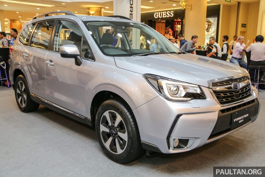 2016 Subaru Forester facelift launched in Malaysia, from RM140k – two NA CKD variants, one turbo CBU Image #477080