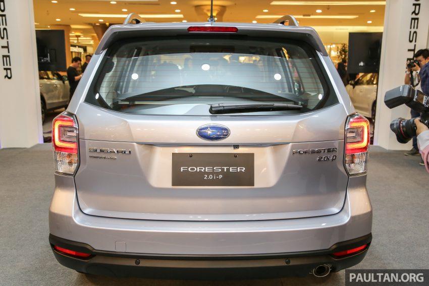 Subaru Forester facelift 2016 dilancar di M'sia – Harga dari RM145k, dua NA CKD dan satu Turbo CBU Image #476992