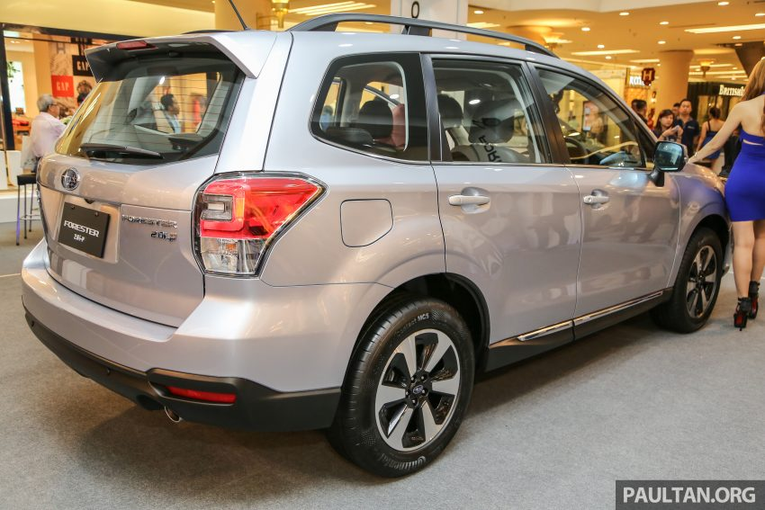 Subaru Forester facelift 2016 dilancar di M'sia – Harga dari RM145k, dua NA CKD dan satu Turbo CBU Image #476988