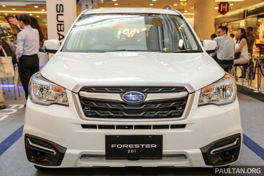Subaru Forester facelift 2016 dilancar di M'sia – Harga dari RM145k, dua NA CKD dan satu Turbo CBU Image #477056
