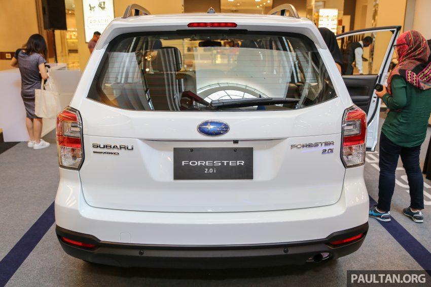 Subaru Forester facelift 2016 dilancar di M'sia – Harga dari RM145k, dua NA CKD dan satu Turbo CBU Image #477049