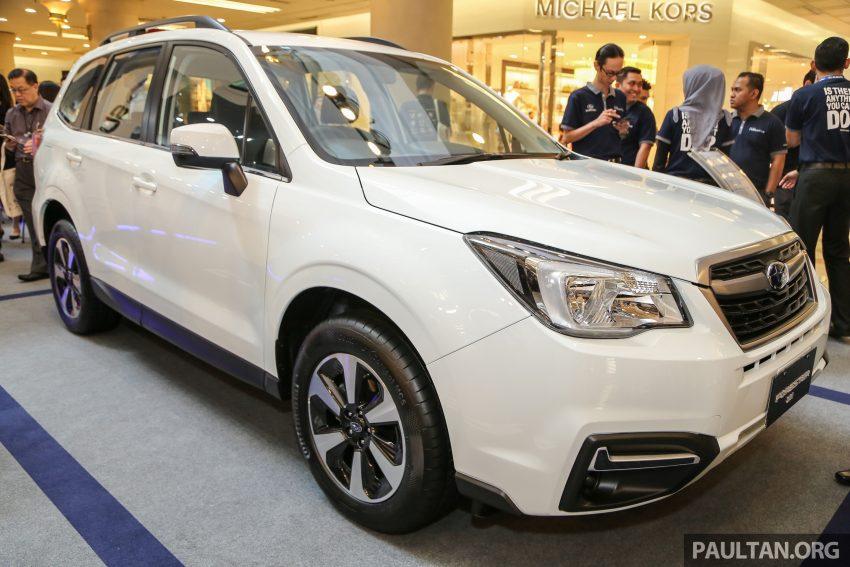Subaru Forester facelift 2016 dilancar di M'sia – Harga dari RM145k, dua NA CKD dan satu Turbo CBU Image #477033