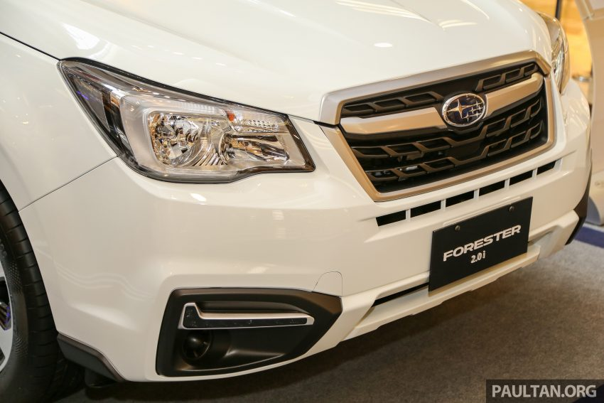 2016 Subaru Forester facelift launched in Malaysia, from RM140k – two NA CKD variants, one turbo CBU Image #477015