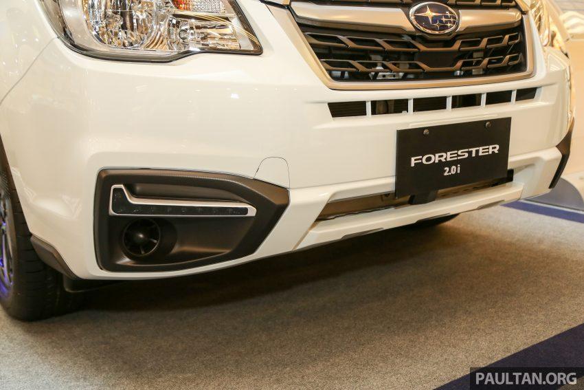 Subaru Forester facelift 2016 dilancar di M'sia – Harga dari RM145k, dua NA CKD dan satu Turbo CBU Image #477020