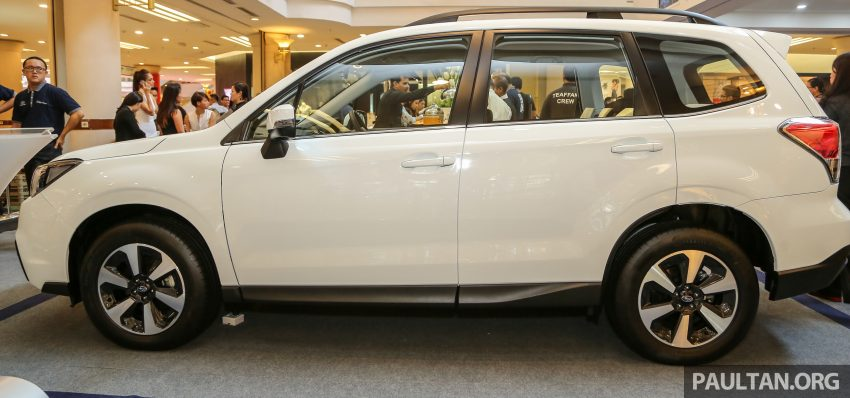 Subaru Forester facelift 2016 dilancar di M'sia – Harga dari RM145k, dua NA CKD dan satu Turbo CBU Image #476987