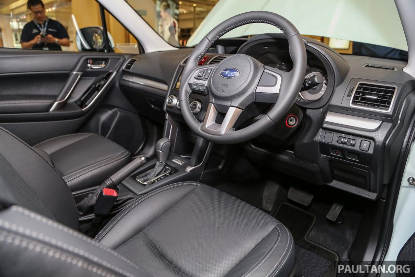 Subaru Forester facelift 2016 dilancar di M'sia – Harga dari RM145k, dua NA CKD dan satu Turbo CBU Image #477016