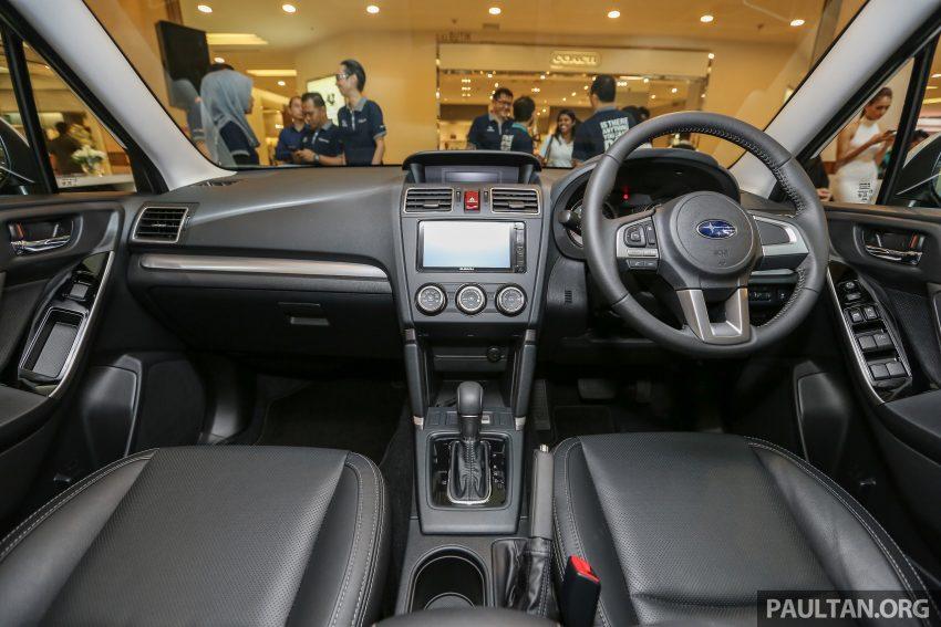 Subaru Forester facelift 2016 dilancar di M'sia – Harga dari RM145k, dua NA CKD dan satu Turbo CBU Image #477005