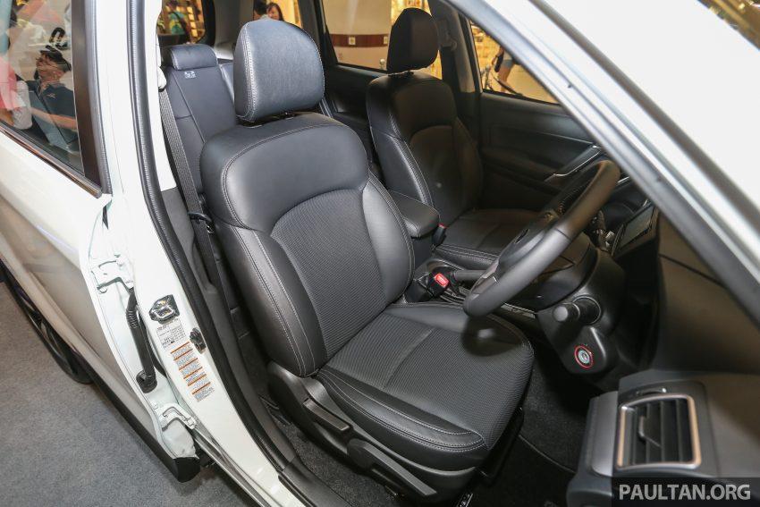 Subaru Forester facelift 2016 dilancar di M'sia – Harga dari RM145k, dua NA CKD dan satu Turbo CBU Image #477007