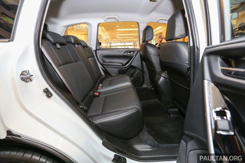 Subaru Forester facelift 2016 dilancar di M'sia – Harga dari RM145k, dua NA CKD dan satu Turbo CBU Image #477003