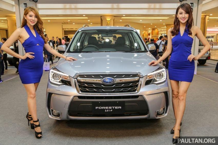 Subaru Forester facelift 2016 dilancar di M'sia – Harga dari RM145k, dua NA CKD dan satu Turbo CBU Image #476989