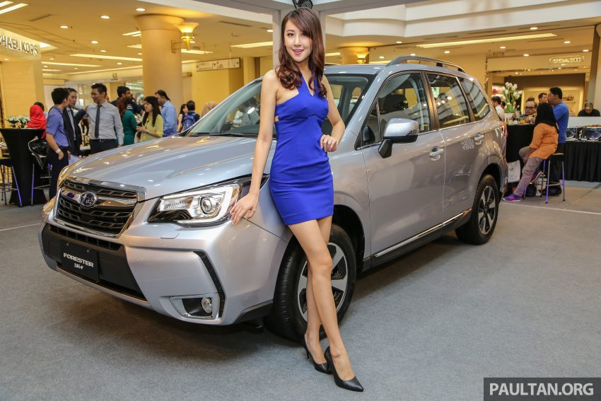 2016 Subaru Forester facelift launched in Malaysia, from RM140k – two NA CKD variants, one turbo CBU Image #477085