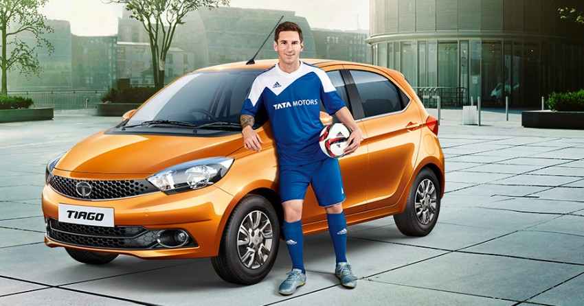 Video lionel messi and tata tiago is fantastico for Ford motor company pension calculator