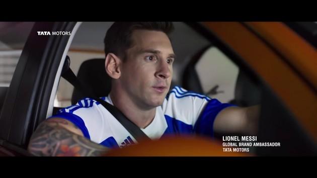 Tata Tiago Messi vid