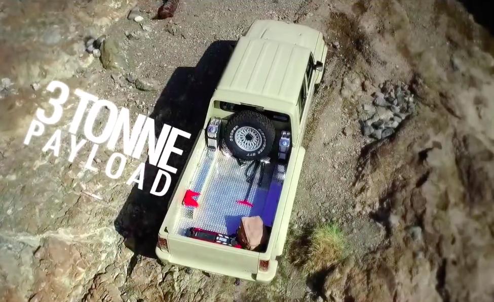 VIDEO: Toyota Land Cruiser 6×6, a custom off-roader Paul ...