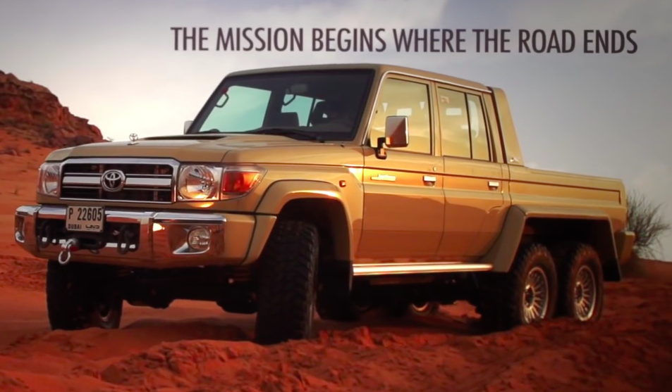 Toyota Land 2018 >> VIDEO: Toyota Land Cruiser 6×6, a custom off-roader Paul Tan - Image 477661