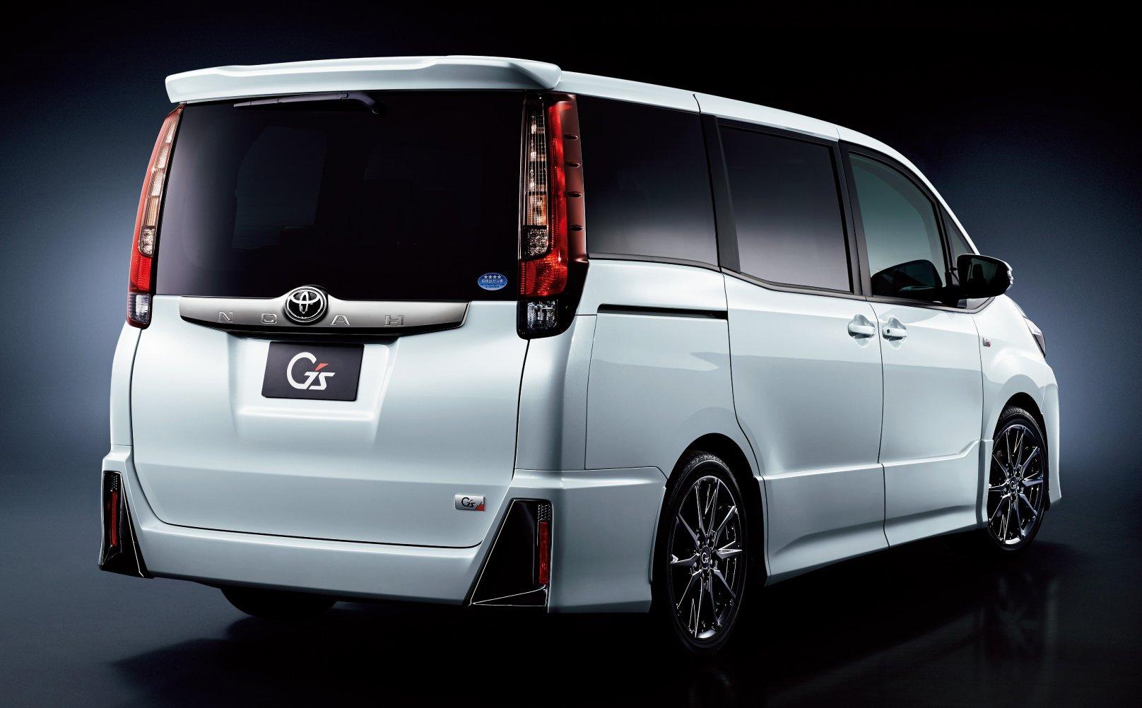 Toyota Noah and Voxy get Gazoo Racing G's treatment Image ...