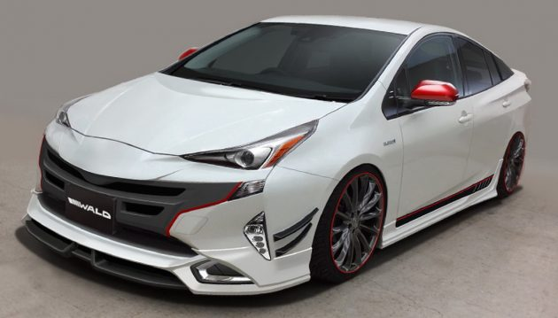 Toyota Prius Wald Sport Line kit-04