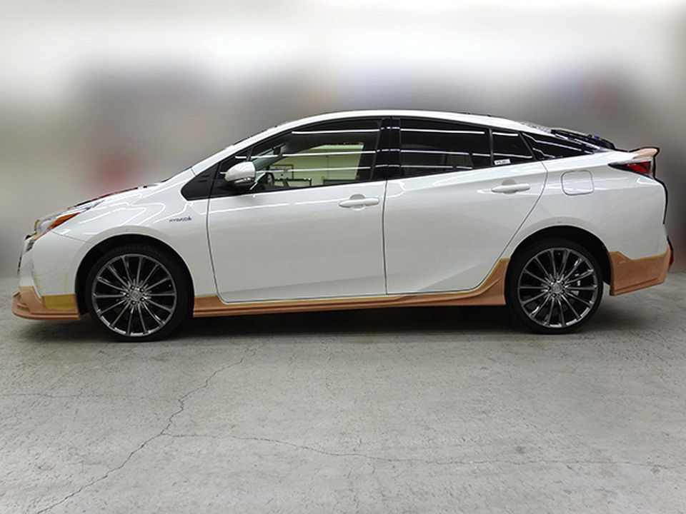 Toyota Prius teased again with Wald's Sport Line kit Paul ...