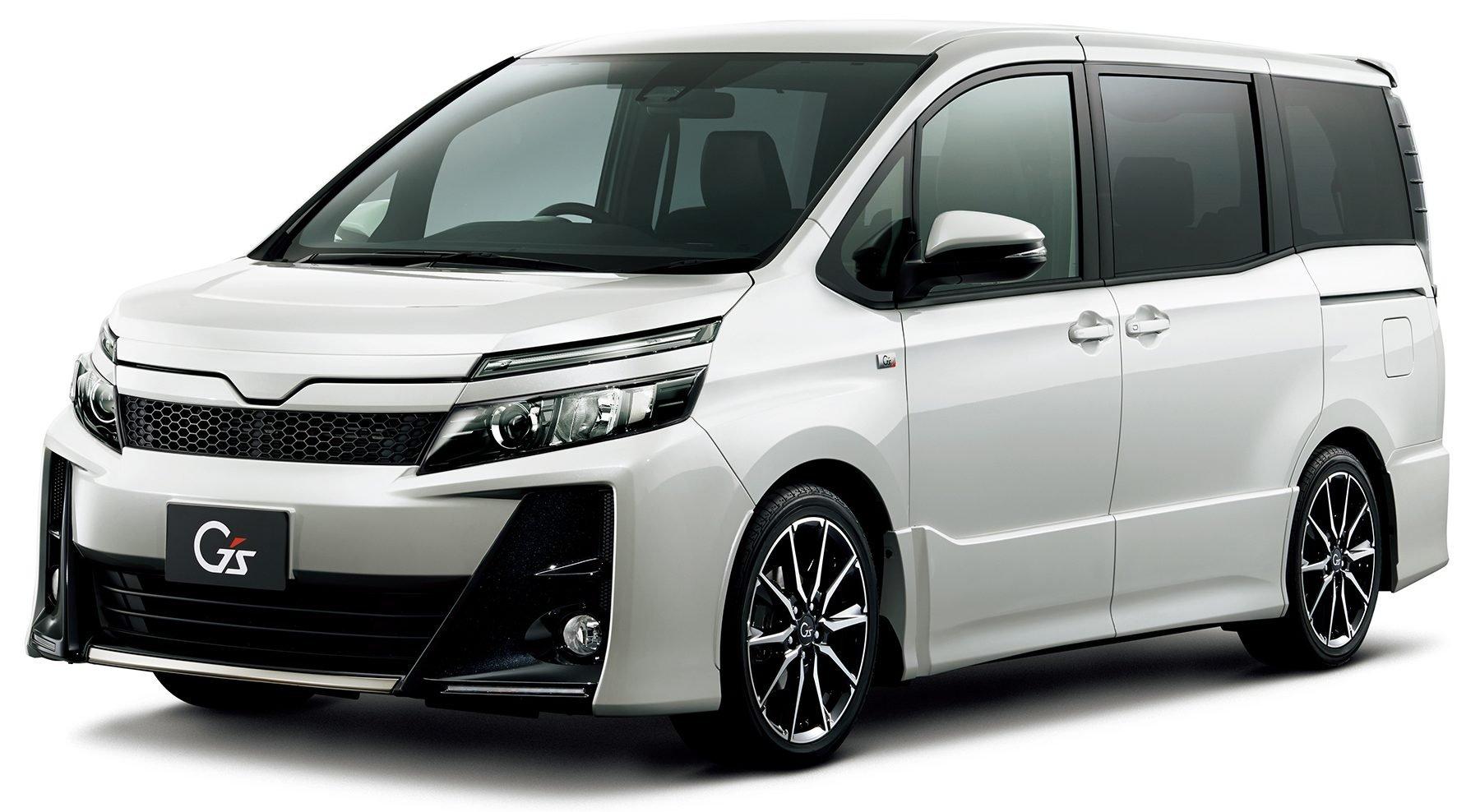 Toyota Noah and Voxy get Gazoo Racing G's treatment