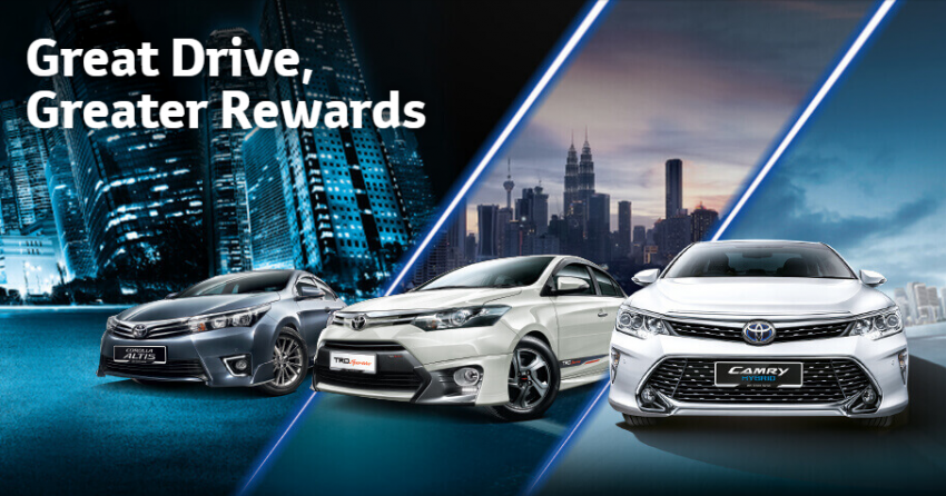 Toyota Great Rewards – five-year free service package, free accessories, rebates up to RM4,000 Image #472456
