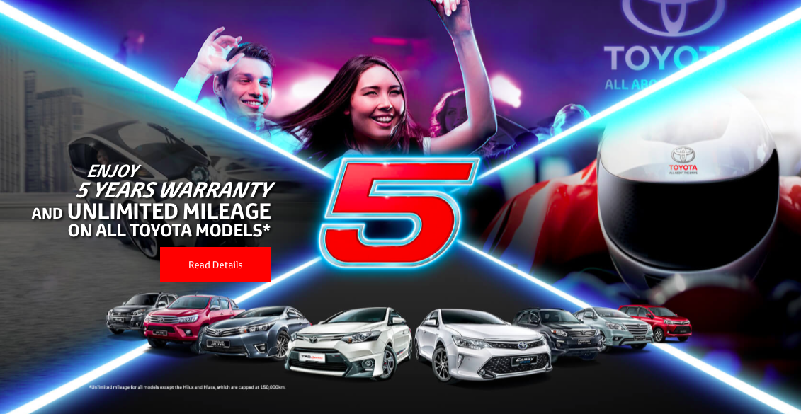 New Toyota Vehicles >> UMW Toyota introduces new five-year warranty for all models in Malaysia; in-warranty vehicles ...