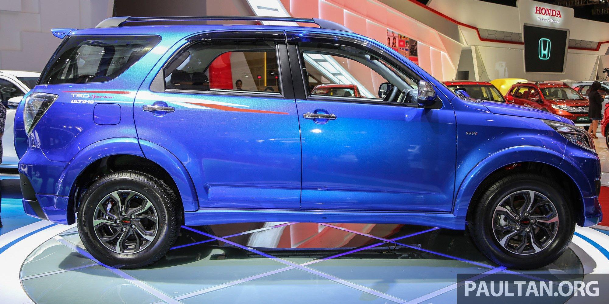 IIMS 2016: SUV Toyota Rush 7 TRD Sportivo Ultimo Paul Tan ...
