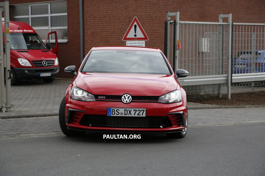 SPIED: Volkswagen Golf Clubsport S seen at the 'Ring Image #484453