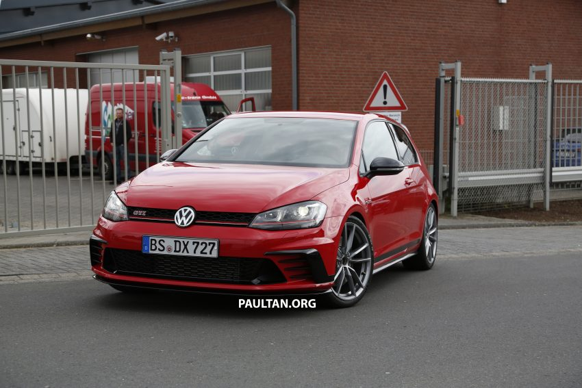 SPIED: Volkswagen Golf Clubsport S seen at the 'Ring Image #484454