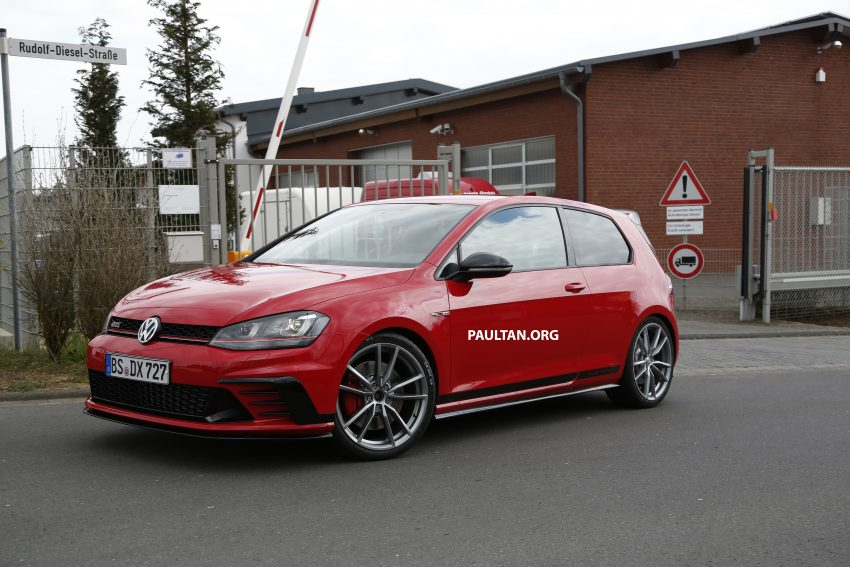 SPIED: Volkswagen Golf Clubsport S seen at the 'Ring Image #484455