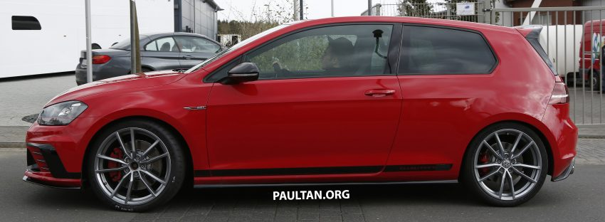SPIED: Volkswagen Golf Clubsport S seen at the 'Ring Image #484450