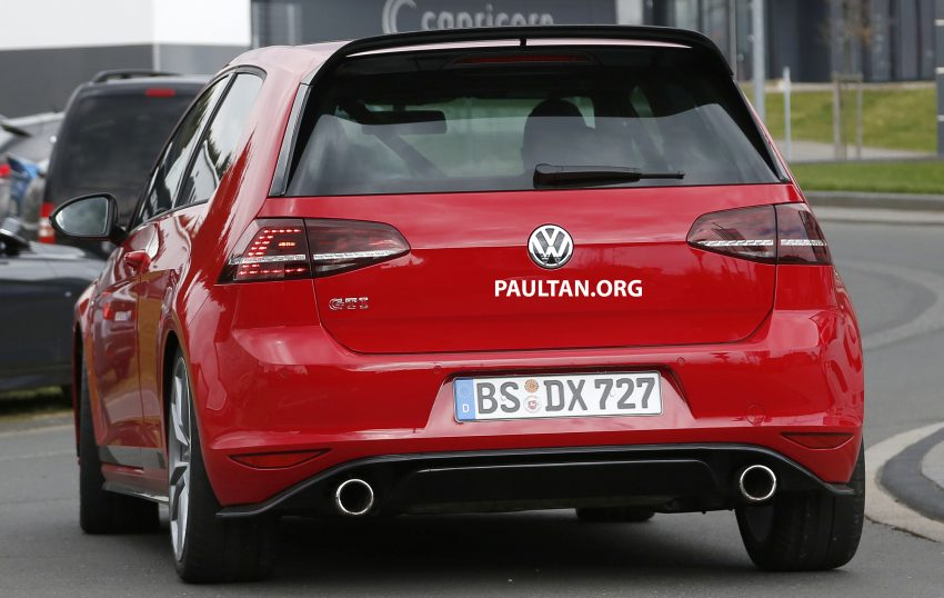 SPIED: Volkswagen Golf Clubsport S seen at the 'Ring Image #484451