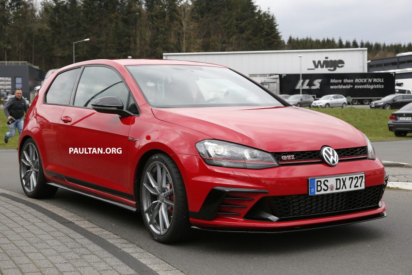 SPIED: Volkswagen Golf Clubsport S seen at the 'Ring Image #484456