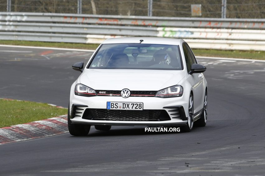 SPIED: Volkswagen Golf Clubsport S seen at the 'Ring Image #484458