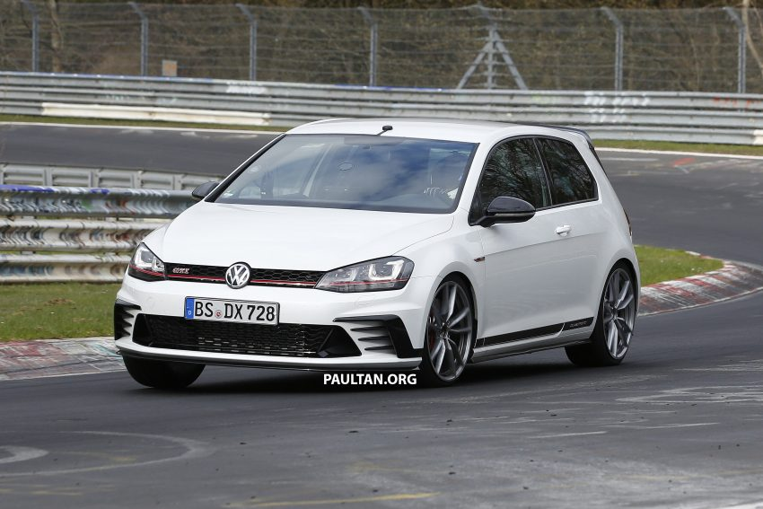 SPIED: Volkswagen Golf Clubsport S seen at the 'Ring Image #484459