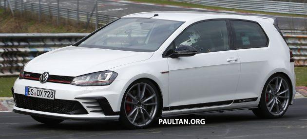 Volkswagen Golf Clubsport S spyshots-12