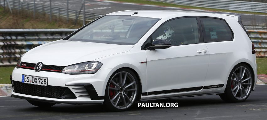 SPIED: Volkswagen Golf Clubsport S seen at the 'Ring Image #484448