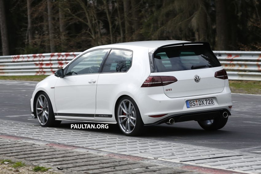 SPIED: Volkswagen Golf Clubsport S seen at the 'Ring Image #484461