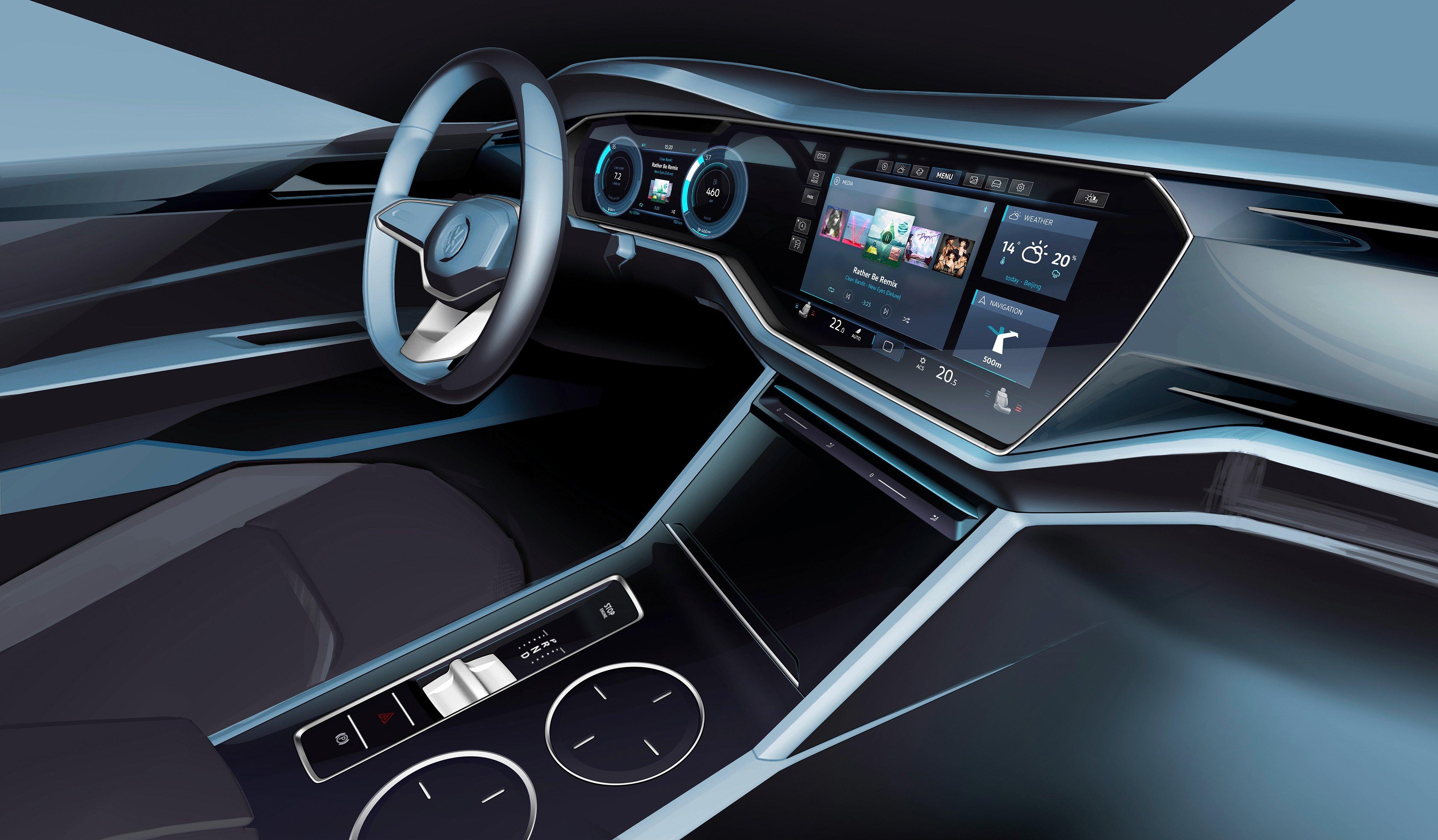 Volkswagen T Prime Concept Gte Unveiled In Beijing Image
