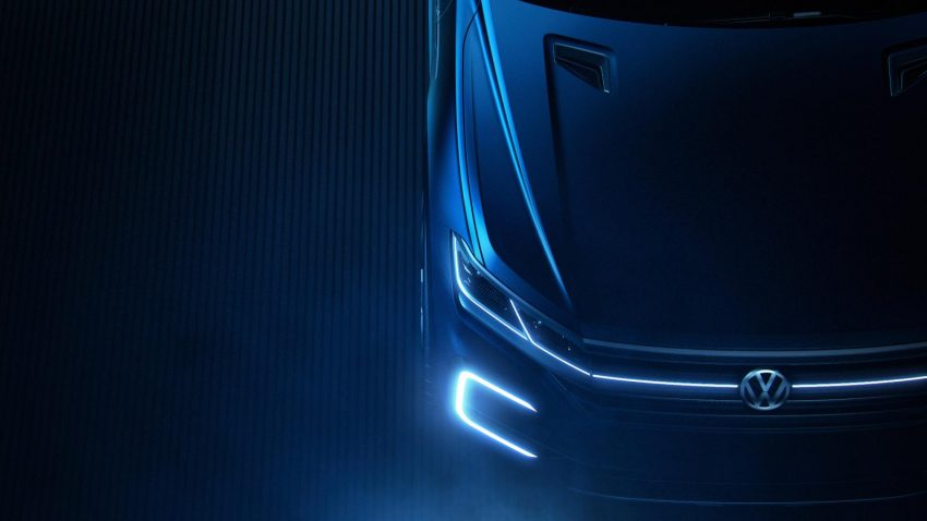 "Volkswagen teases its ""high-tech"" SUV concept Image #478532"