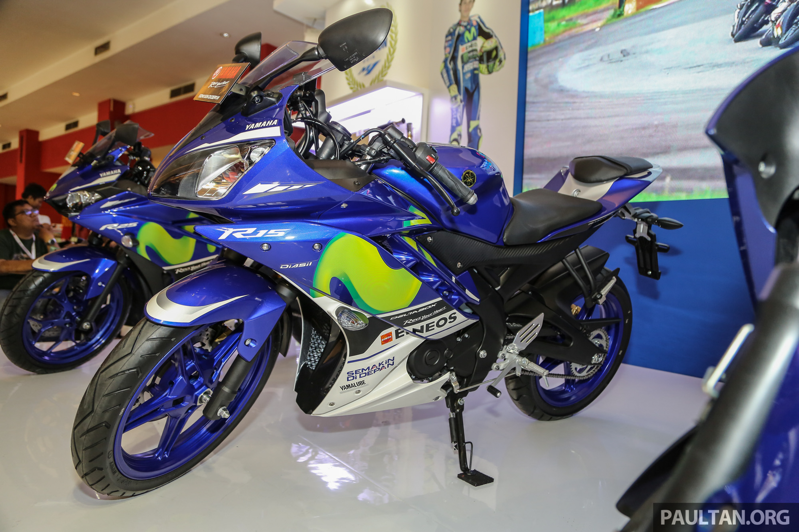 IIMS 2016: Yamaha R15 on display in new colours