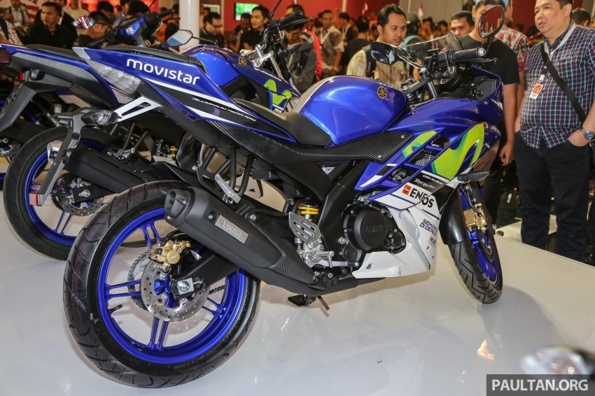 IIMS 2016: Yamaha R15 on display in new colours Image #475029