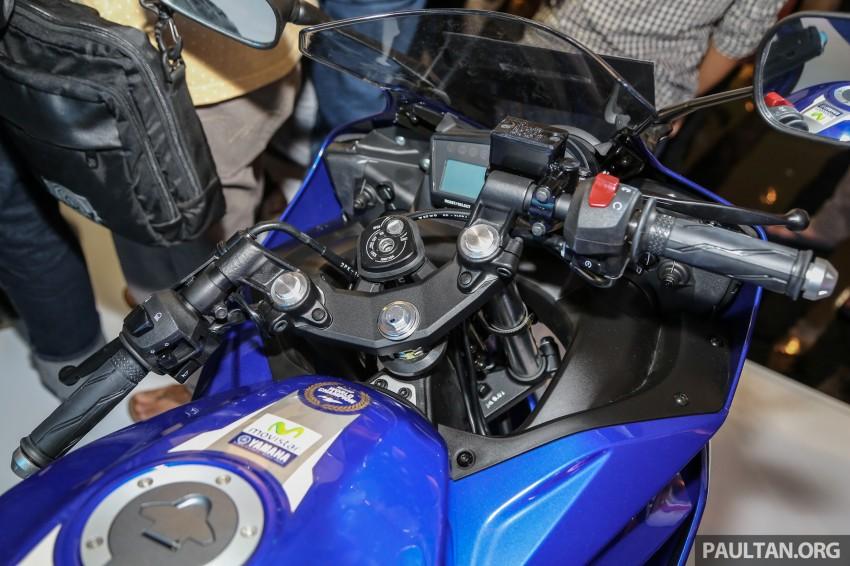 IIMS 2016: Yamaha R15 on display in new colours Image #475033