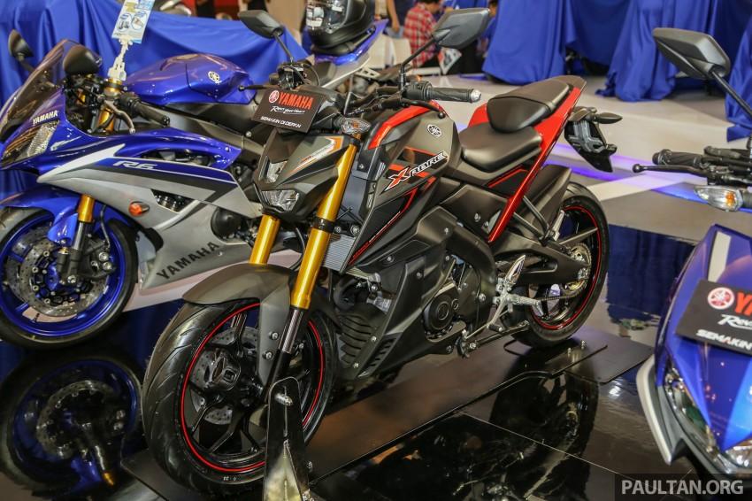 IIMS 2016: 2016 Yamaha Xabre 150 shown in Jakarta Image #474213