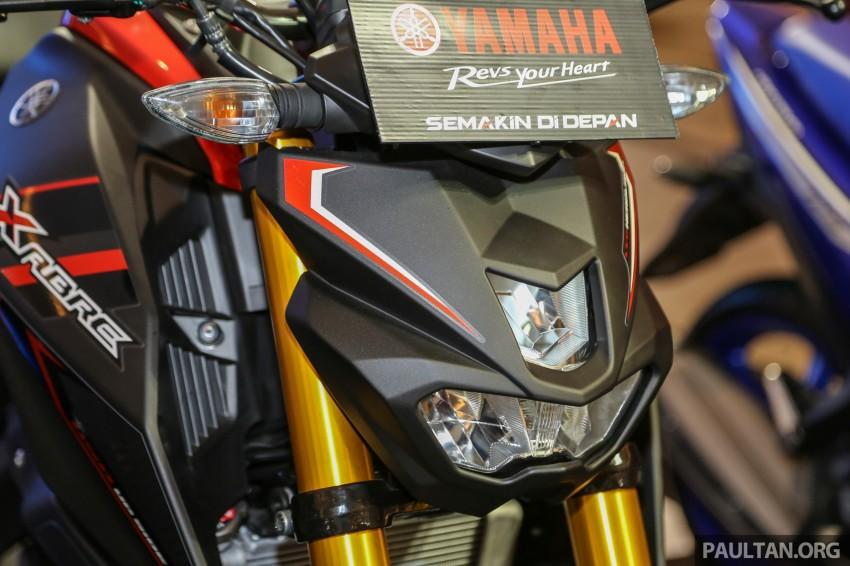 IIMS 2016: 2016 Yamaha Xabre 150 shown in Jakarta Image #474223
