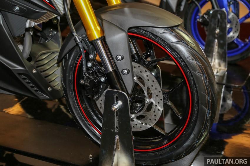 IIMS 2016: 2016 Yamaha Xabre 150 shown in Jakarta Image #474224