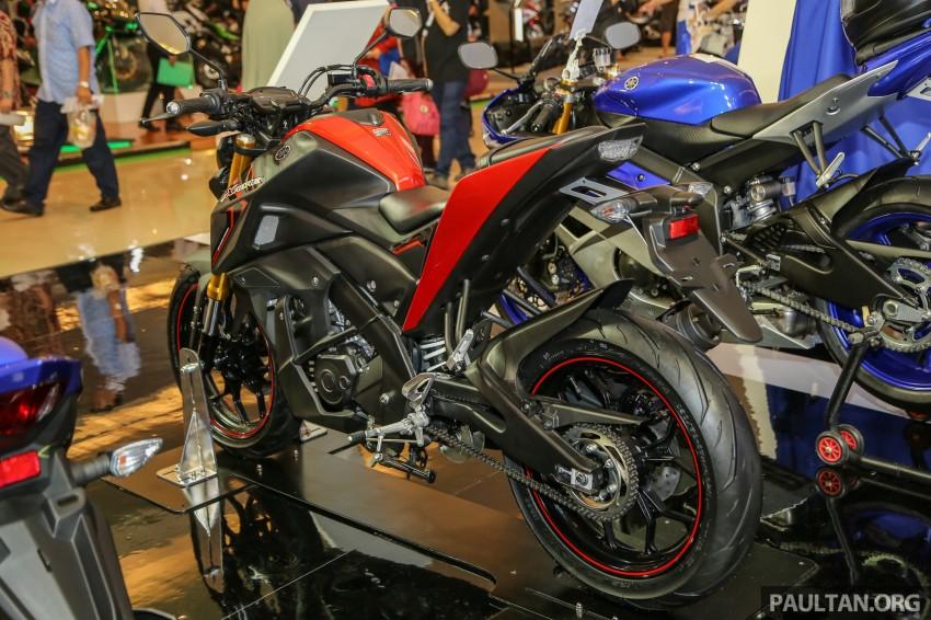 IIMS 2016: 2016 Yamaha Xabre 150 shown in Jakarta Image #474215