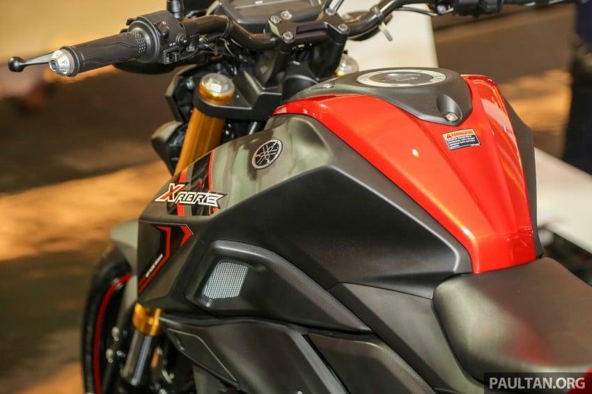 IIMS 2016: 2016 Yamaha Xabre 150 shown in Jakarta Image #474218