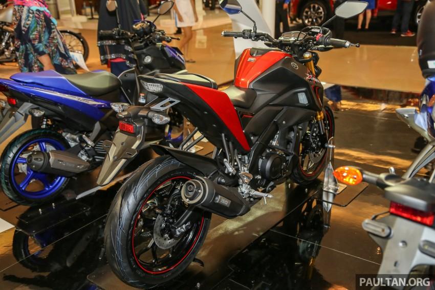 IIMS 2016: 2016 Yamaha Xabre 150 shown in Jakarta Image #474221
