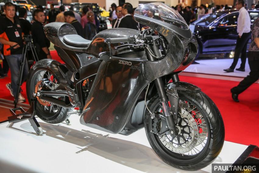 IIMS 2016: Zero Motorcycles e-bikes on display Image #474945